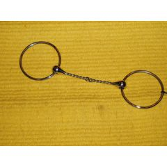 Twisted wire snaffle