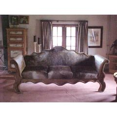 Cowhide sofa *