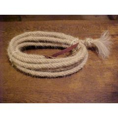 Mecate reins tail