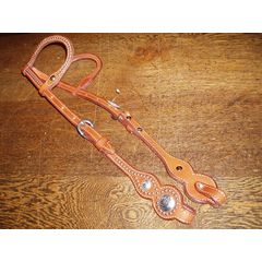 Billy Cook two ear headstall studs