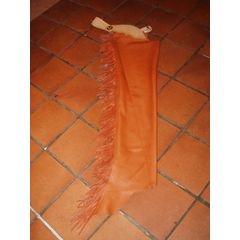 Leather show chaps