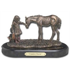Sculpture Country charm