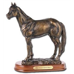 Sculpture American Quarter horse