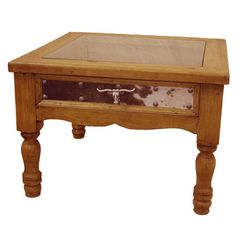 Ranch #2 Side Table S.Box Wax