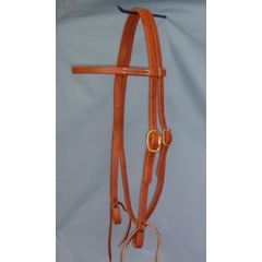 Single Buckle Browband Headstall