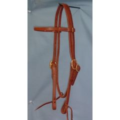 Double Buckle Browband Headstall