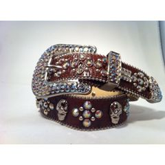 BBS Belt Brown skull
